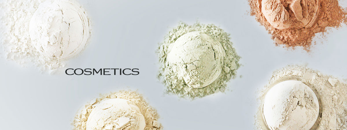Green clay for cosmetics