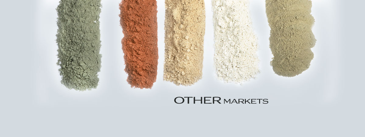 Green clay for other markets